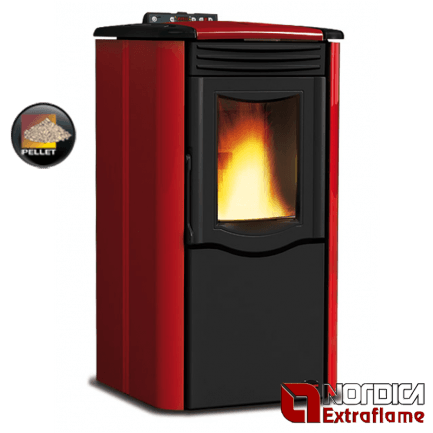 Kamin NORDICA Extraflame Rosy 5kW (143 m3)