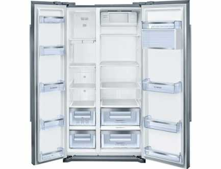 Hladnjak s ledenicom Side-by-side A+ BOSCH KAN90VI20