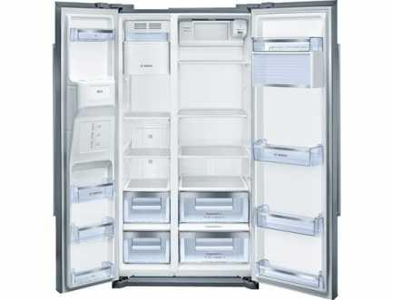 Hladnjak s ledenicom Side-by-side A+ BOSCH KAD90VI20
