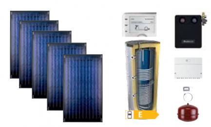 Buderus solarni paket Topas VG-FS ATTD 1000