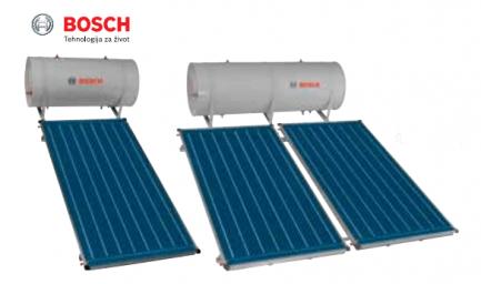 BOSCH termosifonski solarni paket 300 lit. – kosi krov