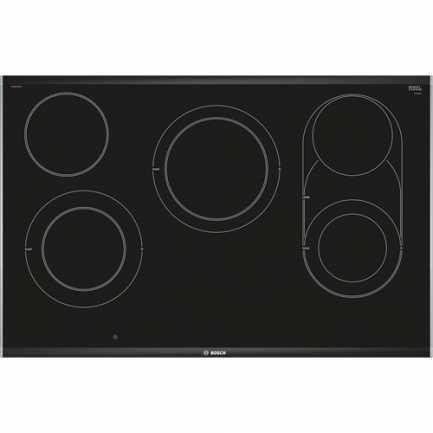 Električna staklokeramička ploča za kuhanje BOSCH PKM875DP1D