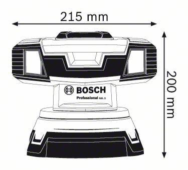Laserski nivelir GSL 2 Bosch 0601064001
