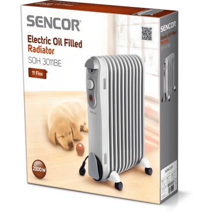 Električni radijator na ulje Sencor SOH 3011BE (35m2)