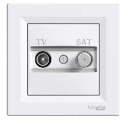 Schneider Asfora utičnica Tv/Sat 1Db završna EPH3400121