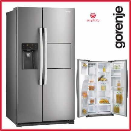 Kombinirani hladnjak A+ Gorenje NRS9181CXB