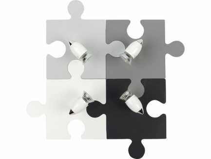 Zidna svjetiljka Nowodvorski LIGHTING Puzzle Gray IV