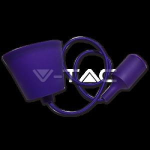 E27-Pendant-Holder-Purple