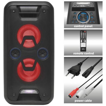 Bluetooth zvučnik SAL PAR 220BT za karaoke