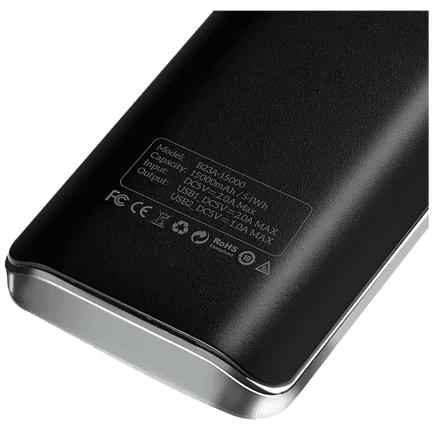 Prijenosni punjač/baterija hoco. s displayjom B23A 15000 mAh 1 A/2.0 A