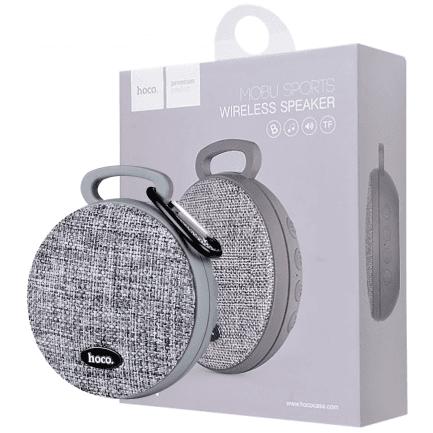 Bluetooth zvučnik hoco. BS7 Mobu 600 mAh sivi