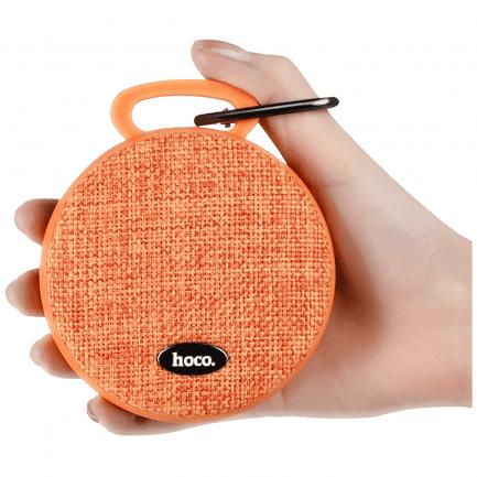 Bluetooth zvučnik hoco. BS7 Mobu 600 mAh narančasti