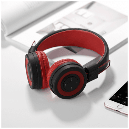 Bluetooth slušalice hoco. W16 Cool motion Red