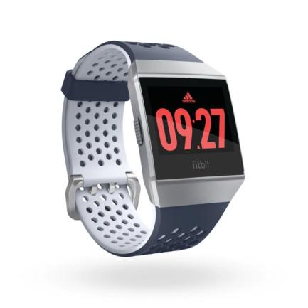 Pametni sat Fitbit Ionic Adidas edition Ink Blue & Ice Gray / Silver Gray (FB503WTNV)