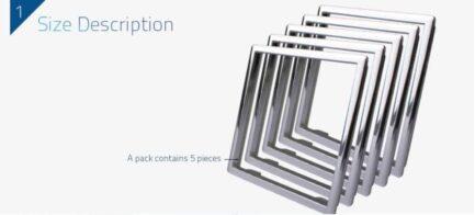 Livolo dekorativni okvir za utičnice/module