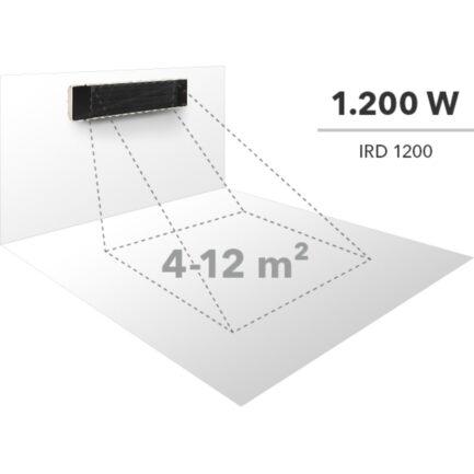 Infracrvena grijalica Trotec IRD 1200 1,2kW