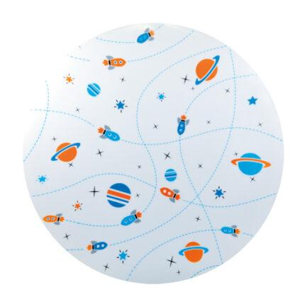LED dječja plafonjera svemir 20W 4500K Strühm