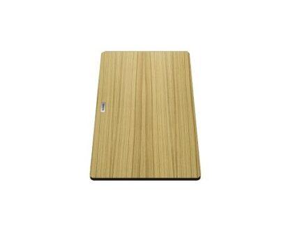 Daska za rezanje Blanco SUBLINE, ANDANO, MEVIT XL 6 S, PLEON – DRVO (424x240mm)