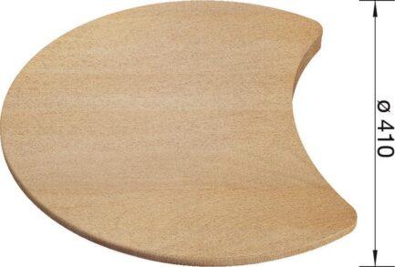Daska za rezanje Blanco RONDOSOL, SET, VAL – DRVO (Ø410mm)